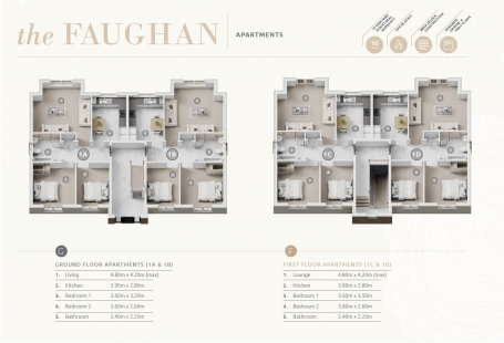 Taggart Homes - The Faughan Cresent Link Apartment